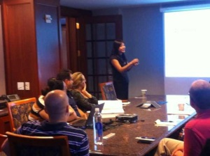 Business Chinese culture training to Standard bank in NYC July 10, 2013
