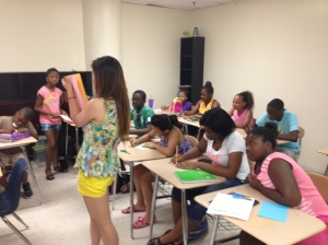 WSC provides Chinese mandarin class for summer camps