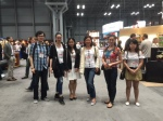 Wall Street Chinese Interpreter team at Javits Center on 6/29/2015